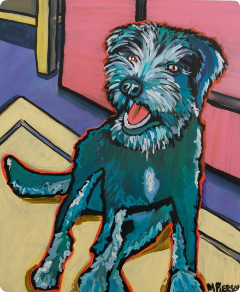 marky pierson dog portrait