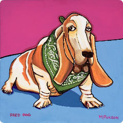 Fred Dog in Heaven - marky pierson
